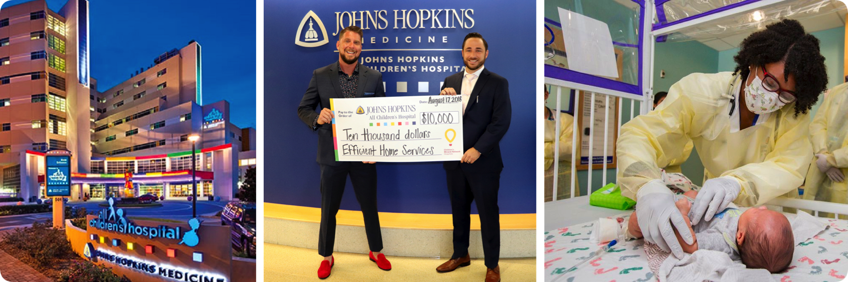 john hopkins all childrens hospital - EHS Gives Back